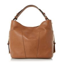 Dune Dacey side pocket detail hobo bag