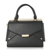 Delaney fold over panels tote bag