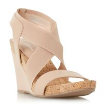 Linea Korley cross strap wedge sandals