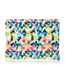 Bexy  bubble print clutch