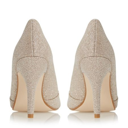 Linea Dapple jewel peep toe high court shoes
