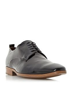 Ryder almond toe leather derby shoes