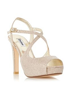 Merry peep toe high heel sandals