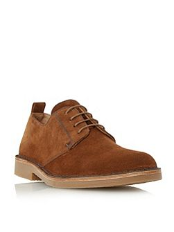 Mojave contrast stitch derby shoes