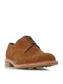 Rowe suede round toe derby shoes