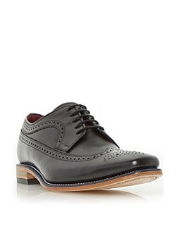 Callaghan blue rand leather brogue shoe