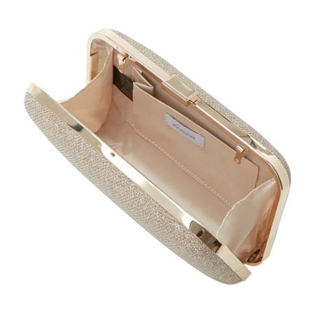 Linea Berlon box frame clutch bag