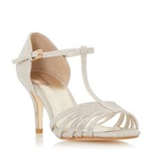 Linea Mayviss t-bar strappy mid heel sandals