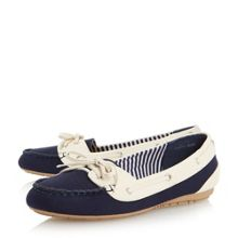 Linea Geline canvas boat shoes