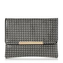 Dune Bea print clutch bag