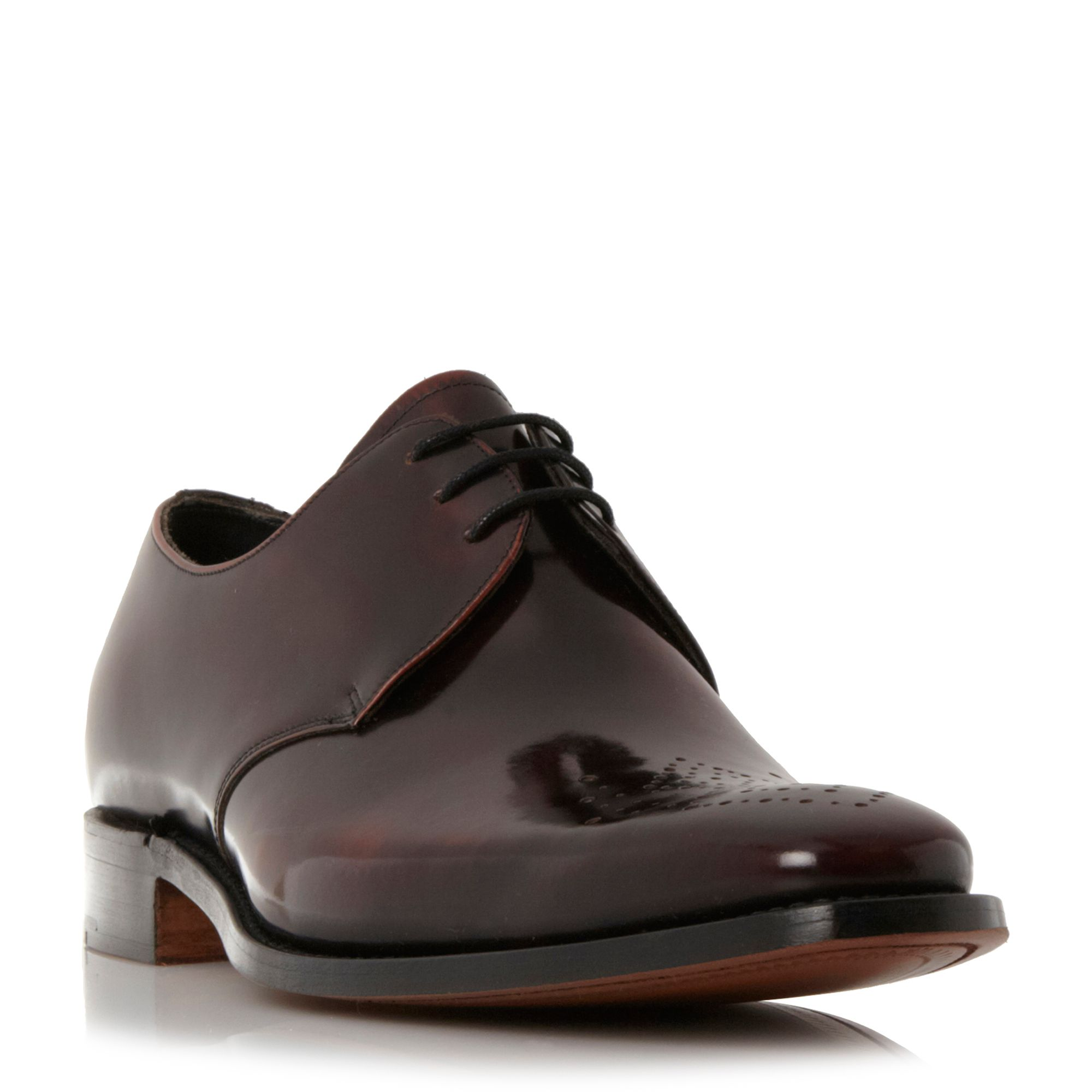 Barker Barker Darlington punched toe gibson shoes, Brown