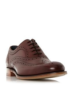 Jensen 2 tone brogue shoes