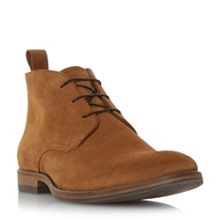 Dune Claude suede lace up boots