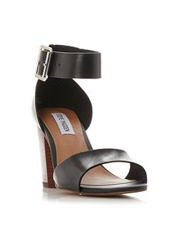 Estoria two part block heel sandals
