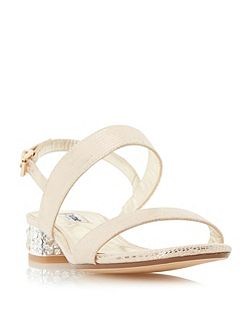 Ninah jewelled block heel sandal