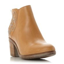 Patty stacked heel casual boots