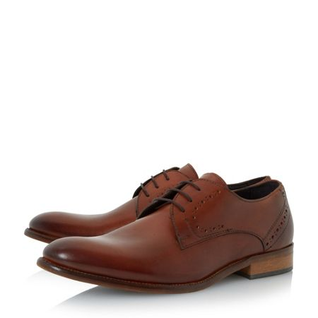 Bertie Ramiro plain toe lace up shoes