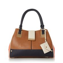 Dune Darlowe multi-compartment shoulder bag