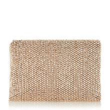 Dune Elenor large beaded clutch bag
