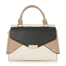 Dune Delaney fold over panels tote bag