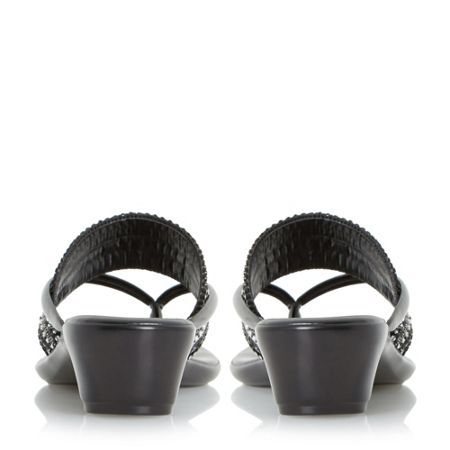 Linea Kelise toe post beaded sandals