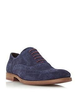 Budleigh Colour Pop Lace-up Suede Brogues