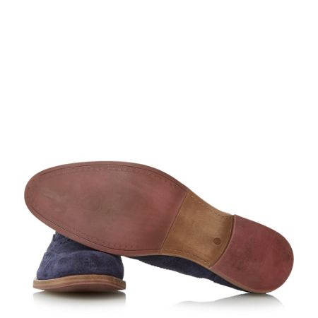 Dune Budleigh Colour Pop Lace-up Suede Brogues