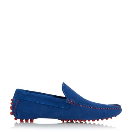 Dune Bermuda Contrast Stitch Loafer Shoes