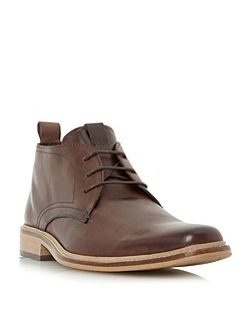 Montenegro squared toe leather boot