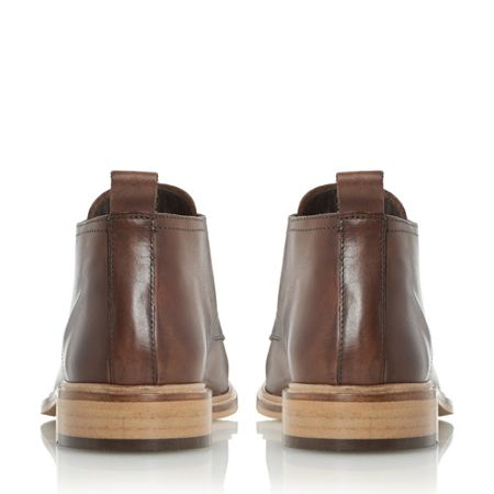 Dune Montenegro squared toe leather boot
