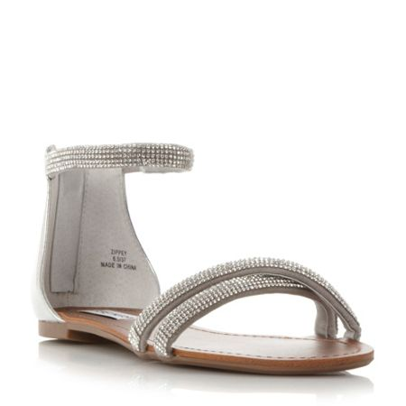 Steve Madden Zippy dimante strap sandals