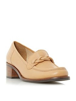 Grateful block heel loafers