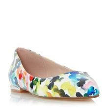 Dune Hydie printed ballerina shoes