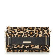 Emma double pouch clutch bag