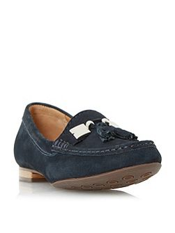 Giberal tassel trim loafers