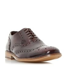 Linea Recent high shine leather brogue shoes