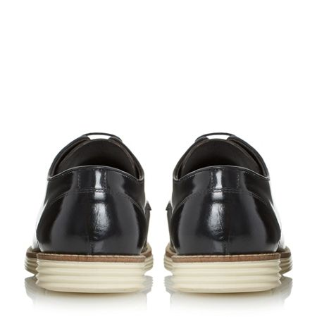 Linea Blantant High Shine Leather Lace Up Shoes