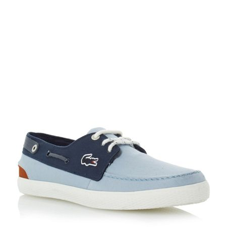 Lacoste Sumac two toned boat shoe