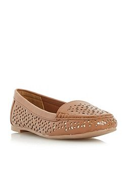 Hasier laser cut loafers