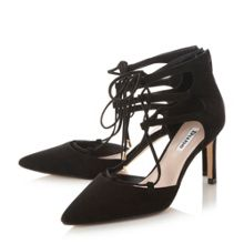 Charlize gilly lace up court shoes