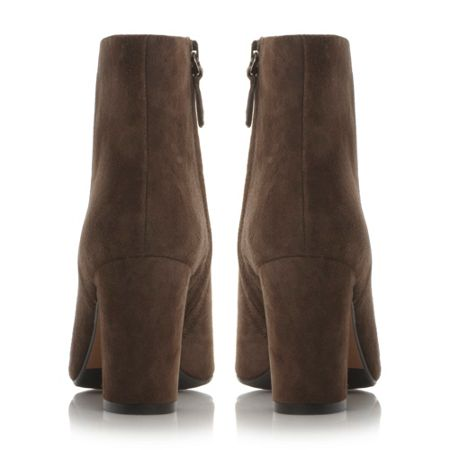 Dune Black Ophira almond toe ankle boots