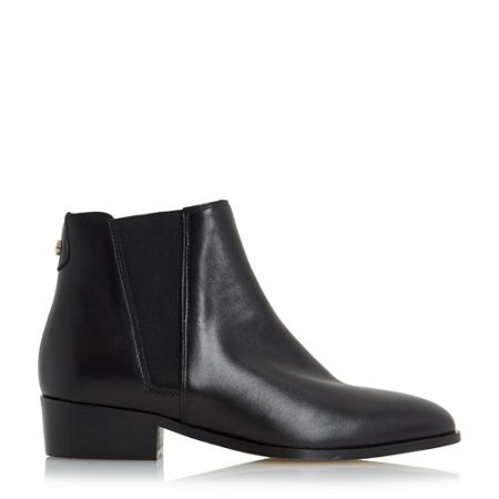 Dune Pearce pointed toe leather chelsea boots