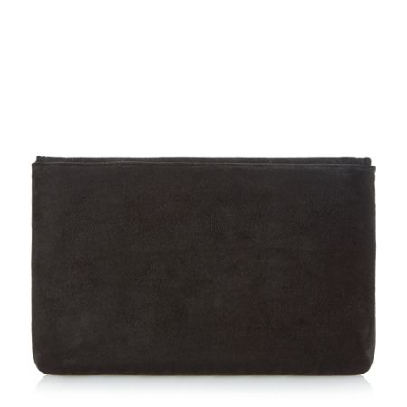 Dune Bliss flapover turn lock clutch bag