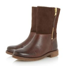 Dune Russell warm lined  leather calf boots