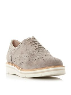 Feathers lace up brogues