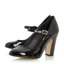 Audrie block heel mary jane shoes