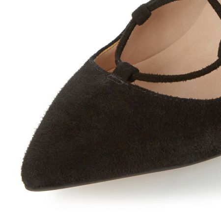 Dune Alabama ghillie lace up court shoes