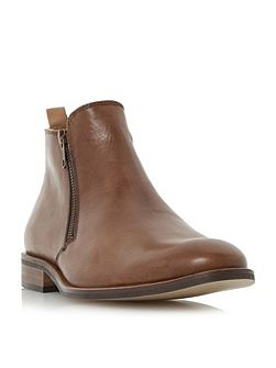 Maccabee side zip leather ankle boots