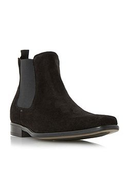 Clarky Suede Chelsea Boots
