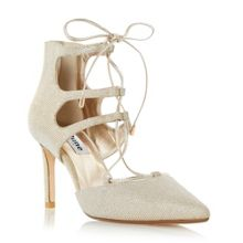 Dune Charlize gilly lace up court shoes